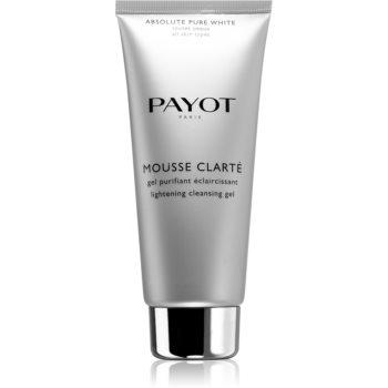 Payot Absolute Pure White gel de curatare facial impotriva petelor poza noua