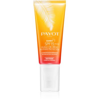Payot Sunny ulei uscat cu protecție solară SPF 15