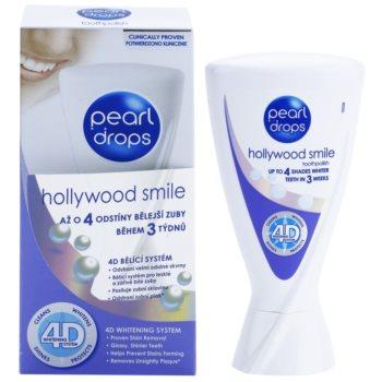 Pearl Drops Hollywood Smile dentífrico branqueador para dentes brancos radiantes 1