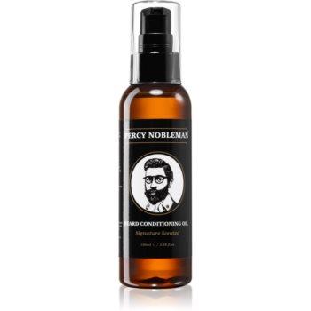 Percy Nobleman Beard Care balsam nutritiv cu ulei, pentru barbă poza noua