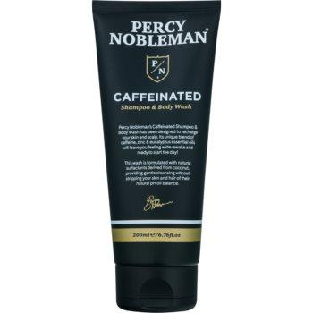 Percy Nobleman Hair sampon pe baza de cofeina pentru barbati pentru corp si par