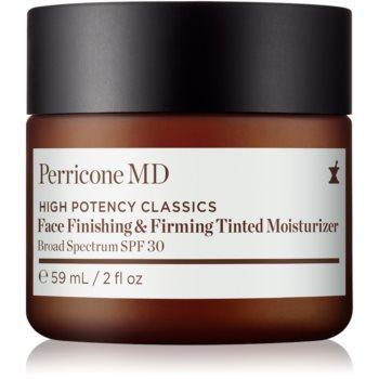 Perricone MD High Potency Classics cremă hidratantă nuanțatoare, cu efect de fermitate SPF 30