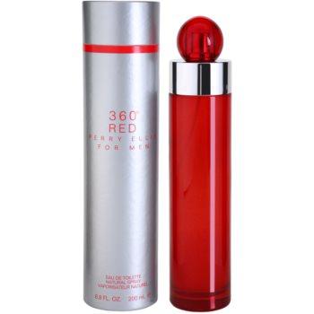 Perry Ellis 360° Red Eau de Toilette pentru barbati 200 ml