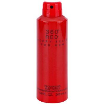 Perry Ellis 360° Red spray pentru corp pentru barbati 200 ml