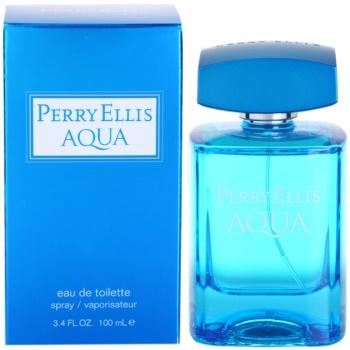 Perry Ellis Aqua Eau de Toilette pentru barbati 100 ml