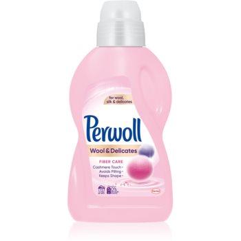 Perwoll Wool & Delicates gel pentru rufe imagine produs