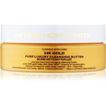 Peter Thomas Roth 24K Gold unt de curățare de lux anti-imbatranire