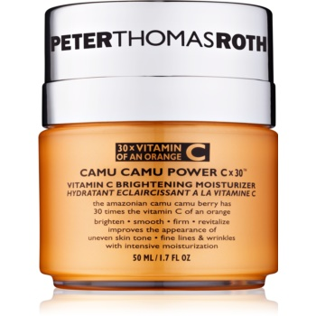 Peter Thomas Roth Camu Camu Power C x 30™ crema hidratanta cu efect iluminator cu vitamina C