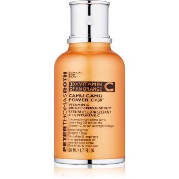 Peter Thomas Roth Camu Camu Power C x 30™ seum pentru piele cu efect iluminator cu vitamina C