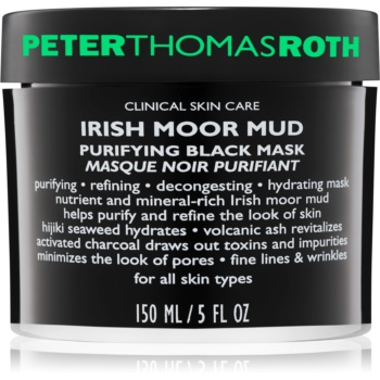 Peter Thomas Roth Irish Moor Mud Masca neagra de curatare