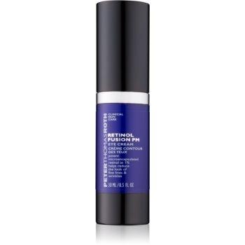 Peter Thomas Roth Retinol Fusion PM crema anti-rid de noapte cu efect matifiant zona ochilor