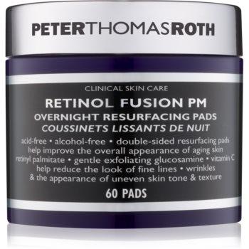 Peter Thomas Roth Retinol Fusion PM Tampoane faciale de noapte antirid