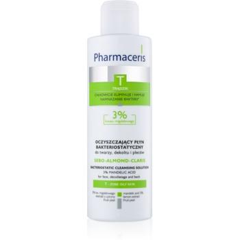 Pharmaceris T-Zone Oily Skin Sebo-Almond-Claris Lapte demachiant pentru tenul gras și problematic
