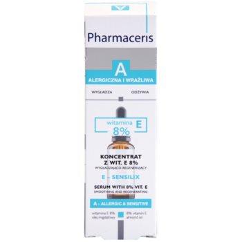 Pharmaceris A-Allergic&Sensitive E-Sensilix sérum regenerador para pele fina com vitamina E 2