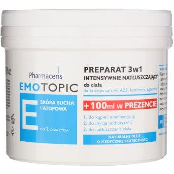 Pharmaceris E-Emotopic intenzivní olejová péče na tělo pro děti i dospělé 3 v 1 400 ml