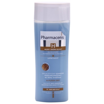 Pharmaceris H-Hair and Scalp H-Purin Dry sampon anti-matreata pentru scalp sensibil si uscat  250 ml