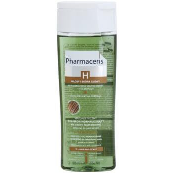Pharmaceris H-Hair and Scalp H-Sebopurin sampon cu efect calmant pentru par si scalp gras  250 ml