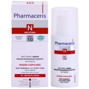 Pharmaceris N-Neocapillaries Magni-Capilaril hranilna krema proti gubam SPF 10 2