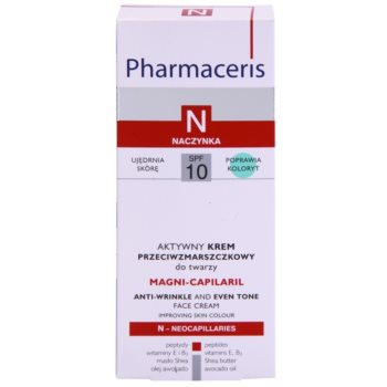 Pharmaceris N-Neocapillaries Magni-Capilaril hranilna krema proti gubam SPF 10 3