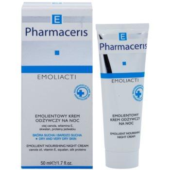 Pharmaceris E-Emoliacti nährende Nachtcreme zur Beruhigung und Stärkung empfindlicher Haut 1