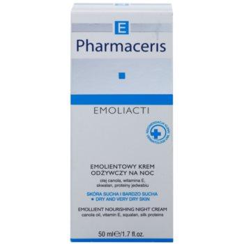 Pharmaceris E-Emoliacti nährende Nachtcreme zur Beruhigung und Stärkung empfindlicher Haut 2