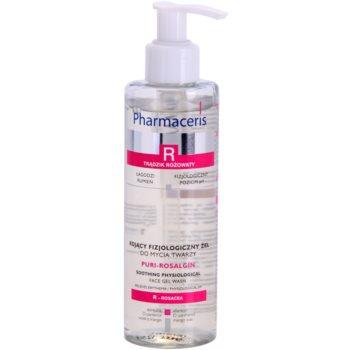 Pharmaceris R-Rosacea Puri-Rosalgin gel calmant de curatare pentru piele sensibila cu tendinte de inrosire