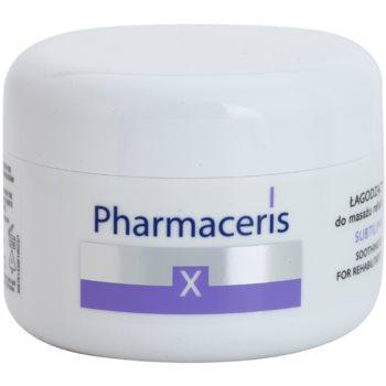 Pharmaceris X-Rays - Skin After Radiotherapy Subtilimasage успокояващ масажен крем за регенерация и възстановяване на кожата