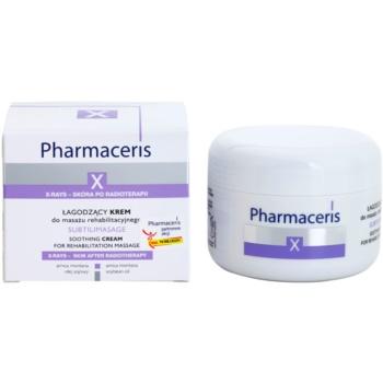 Pharmaceris X-Rays - Skin After Radiotherapy Subtilimasage nyugtató masszázs krém az arcbőr regenerálására és megújítására 1