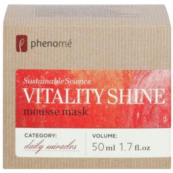 Phenomé Daily Miracles Brightening maseczka nawilżająca w formie pianki nadający skórze promienny wygląd 3
