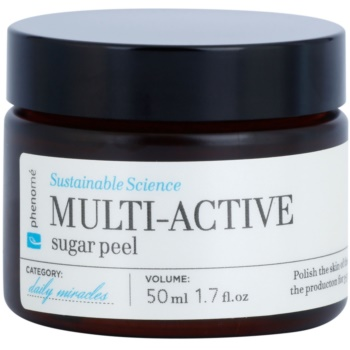 Phenomé Daily Miracles Cleansing exfoliant din zahar pentru toate tipurile de ten, inclusiv piele sensibila