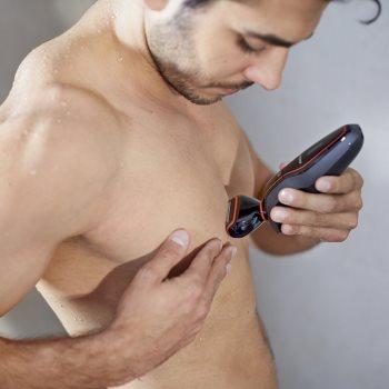 Philips Click & Style S738/17 máquina de barbear para homens 9