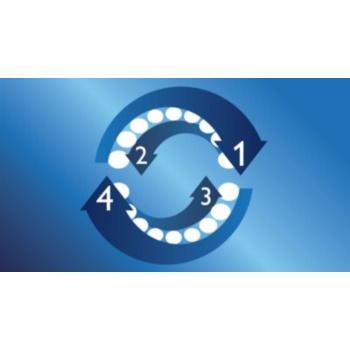 Philips Sonicare DiamondClean HX9332/04 sonična električna zobna ščetka s polnilnim kozarcem 8