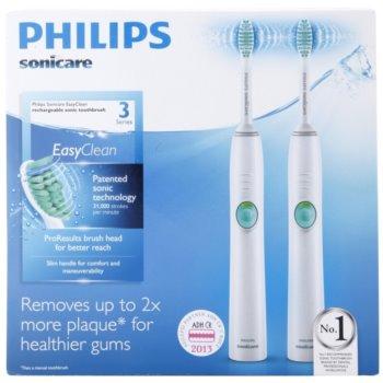 Philips Sonicare EasyClean HX6511/35 sonický elektrický zubní kartáček, 2 těla 13