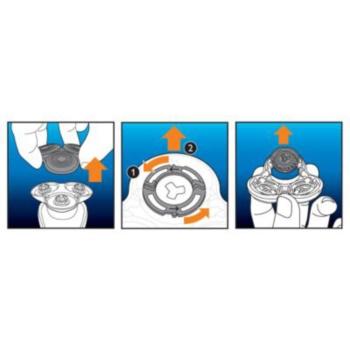 Philips Shaver Series 7000 Gentle Track Precision SH 70/50 nadomestne britvice 3 kos 6