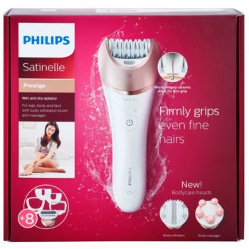 Philips Satinelle Prestige BRE650 Epilierer für Körper und Gesicht 30
