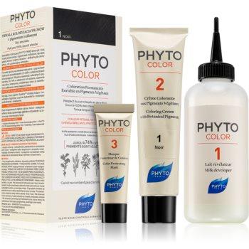 Phyto Color Haarfarbe ohne Ammoniak Farbton 1 Noir