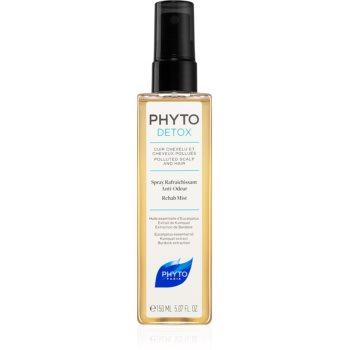 Phyto Detox ceață înviorătoare pentru păr expus la poluare