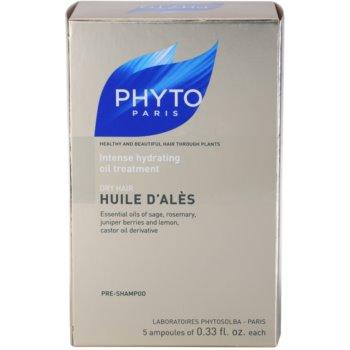 Phyto Huile d'Alès інтенсивна зволожуюча сироватка для сухого волосся 2