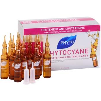 Fotografie Phyto Phytocyane revitalizační sérum proti vypadávání vlasů 12 ks