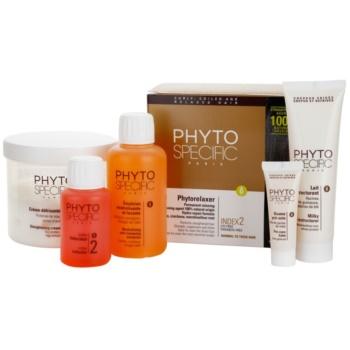 Fotografie Phyto Specific Phytorelaxer sada pro vyrovnání normálních a hrubých vlasů 5 ks