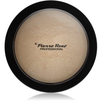 Pierre René Face Highlighting Powder Pudra compacta ce ofera luminozitate