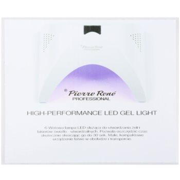 Pierre René Nails High-Performance LED lampa pro úpravu gelových nehtů 6 W 3