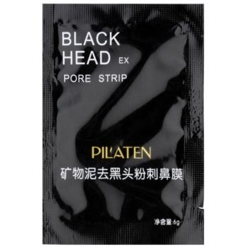 Pilaten Black Head mască exfoliantă neagră  6 g
