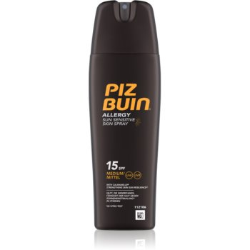 Fotografie Piz Buin Allergy sprej na opalování SPF 15 200 ml