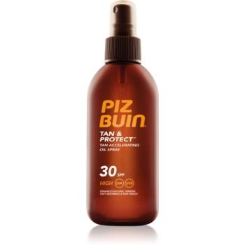 Piz Buin Tan & Protect ochranný olej urychlující opalování SPF 30 150 ml