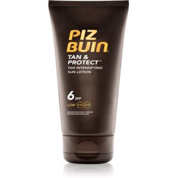 Piz Buin Tan & Protect ochranné mléko urychlující opalování SPF 6 150 ml