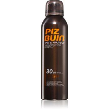 Piz Buin Tan & Protect spray protector pentru un bronz intens