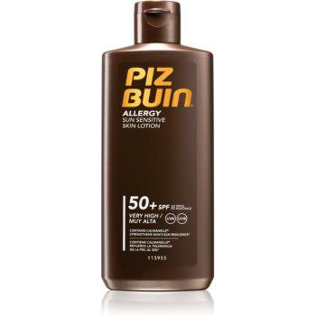 Piz Buin Allergy lotiune de plaja pentru pielea sensibila SPF 50
