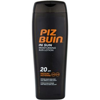 Fotografie Piz Buin In Sun hydratační krém na opalování SPF 20 200 ml