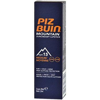 Piz Buin Mountain creme protetor 2 em 1 para rosto e lábios SPF 15 2